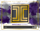 2018 Panini Impeccable Football Hobby 8 Card Pack Box (Sealed)