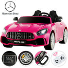 12V Kids Powered Ride on Car Electric Battery Wheel Remote Control 3 Speed Black