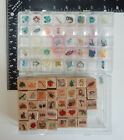 Hooks Lines  Inkers DJH Heart Balloon Rubber Stamp B03