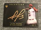 2017 Topps Inception Baseball Cards 56