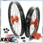 1.6*21 & 2.15*18 KTM 690 ENDURO R  CUSH DRIVE WHEEL RIM SET FIT 2008-2019