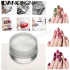 Nail Art Stamping Tools Set Clear Jelly Stamp Silicone Stamper