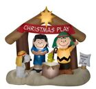 Peanuts Nativity Scene Christmas Inflatable Indoor Outdoor Yard Decoration 57Ft