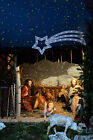 5x7ft Vinyl Backdrop Studio Photography Prop Cartoon Jesus Nativity Christ Birth