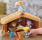 Fisher Price Manger Nativity Little People A Christmas Story Bible Kids Toy Gift