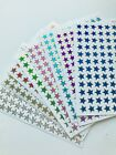 108 Mini Star Stickers Planner Holographic Stickers Scrapbooking Card Making