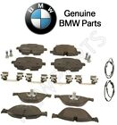 For BMW F06 F10 550i 650i GC Front & Rear Disc Brake Pads with Sensors Kit OES