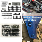137pcs M6 Aluminium Motorcycle Fairing Body Bolts Fastener Clips Screw Nuts Set
