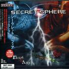 SECRET SPHERE Heart & Anger 1 CD Hell In The Club E.Idol Highlord Avatar