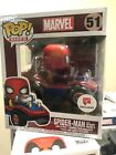 Funko Pop Spider Man with Spider Mobile Walgreens Exclusive