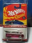 Hot Wheels Classics Series 2 Volkswagen Drag Truck pink
