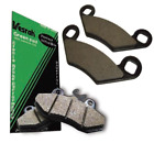 Organic Brake Pads For 2001 Husaberg FX470E Offroad Motorcycle~Vesrah VD-947/2