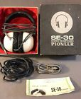 Pioneer SE-30A Vintage Stereo Headphones 8 OHM Japan Quality Sound Detecting