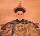 Guangxu Hand Painted  Portrait Scroll Painting