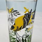 VTG Federal Glass Company Goldfinch Drinking Glass 5.25
