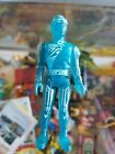 Vintage Translucent Blue Retro TOMY Tron Flynn Action Figure 1981 DIsney