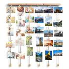 WALL HANGING DECOR WITH HANGING PICTURE FAMILY PICTURE FRAMES PHOTO DISPLAY NEW