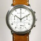 BLANCPAIN VILLERET AUTOMATIC STEEL CHRONOGRAPH 1185-1127-55