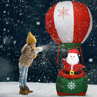 6 Christmas Decoration Inflatable Santa Claus Hot air Balloon Lighted Outdoor