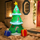 6 Inflatable Decoration Christmas Tree with Gift Boxes Blow Up Lighted Outdoor