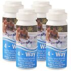 4 x 4 Way CHLORINE Test Strips x200 AQUASPARKLE Hot Tub Spa Pool Water Testing