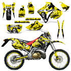 Honda CRM250 AR Graphics Kit Decal Wrap Deco Stickers CRM 250 AR REAP YELLOW