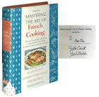 Julia Child Mastering the Art of French Cooking Volume One Signed 1971