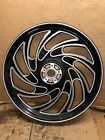 21 x 2125 HARLEY DAVIDSON CUSTOM WHEEL Black  Polished Aluminum