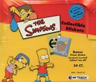 Simpsons Stickers Card Box CASE 10 Boxes Artbox 2002 New Factory Sealed
