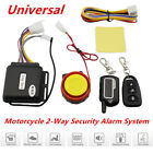 Motorcycle Security Alarm System Anti-theft Remote Control Engine Start 12 ±3V