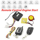 Anti-theft Motorcycle Security Alarm System Remote Control Engine Start Durable