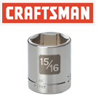 Craftsman 12 38 Drive Easy Read Sockets 6 Point Any Size Std Shallow Mmsae