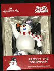 Hallmark Skating FROSTY the Snowman on Skates Ornament  Resin  NEW
