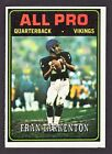Top 10 Fran Tarkenton Football Cards 22