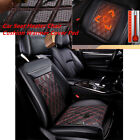12V Carbon Fiber Heated Car Seat Heater Chair Cushion Warmer Cover Pad Awesome
