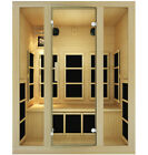 JNH Lifestyles Joyous 3 Person Infrared Sauna New