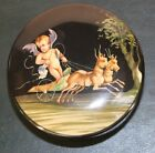 Villeroy and Boch  Pompei pattern cupid painted lidded dish neoclassic cherub