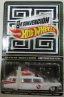 HOT WHEELS MEXICO 8 CONVENTION GHOSTBUSTERS ECTO 1