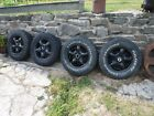 4 X LAND ROVER 16 WHEELS WITH TYRES