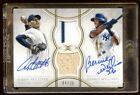 TOPPS DEFINITIVE ANDY PETTITTE-BERNIE WILLIAMS DUAL AUTO JERSEY BAT 35 ONCARD !