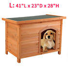 Dog House For Large Dogs Kennel Wood Extra Large Outdoor All Weather L Pet Gate