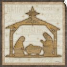 Wall Decal entitled Rustic Nativity