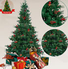 6ft Green 1000 Pines Artificial Christmas Xmas Tree w 300 LED Warm White Lights