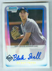 2011 Bowman Chrome BLAKE SNELL RC Refractor Autograph AUTO 323 500 RAYS