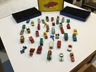 40 Matchbox Lesney Regular Wheel Cars With Carry Case Lot 14