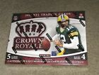 2015 Crown Royale HOBBY Football Box (Factory SEALED) 2 autographs per box