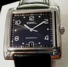 EBEL 1911 La Carree Men's Stainless AUTOMATIC Watch E9120I43 w/Box EXCELLENT!!