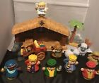 Fisher Price Little People Christmas Story Nativity 15 Replacement Figures