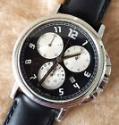 MONTBLANC SUMMIT XL 7060 1/10th Sec CHRONOGRAPH Stainless Steel 40mm Mens Watch