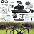 Motor 2 Stroke 50cc Petrol Gas Engine Kit For Motorized Bicycle Bike Silver